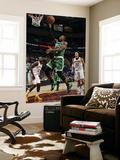 Boston Celtics v Cleveland Cavaliers: Rajon Rondo, J.J. Hickson and Anderson Varejao Posters by David Liam Kyle
