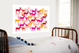 Warm Deer Pattern Prints by  Avalisa