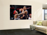 Indiana Pacers v Atlanta Hawks: Jeff Teague and Danny Granger Poster by Kevin Cox