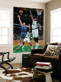 Washington Wizards v Boston Celtics: Kirk Hinrich and Shaquille O'Neal Prints by Brian Babineau
