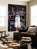 New Jersey Nets v Dallas Mavericks: Caron Butler and Jason Kidd Print by Glenn James