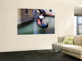 Selective Focus of Gondola in the Canals of Venice, Italy Prints by Terry Eggers