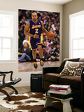 Los Angeles Lakers v Los Angeles Clippers: Derek Fisher Print by  Stephen