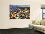Cityscape at Dusk, Bangkok, Thailand Posters