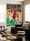 Chicago Bulls v Boston Celtics: Joakim Noah and Glen Davis Art by Brian Babineau