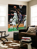 Indiana Pacers v Boston Celtics: Roy Hibbert and Nate Robinson Poster by Brian Babineau