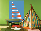 Blue Counting Pears Posters por  Avalisa