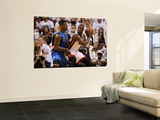 Dallas Mavericks v Miami Heat - Game Two, Miami, FL - JUNE 02: Dwyane Wade and DeShawn Stevenson Posters by Ronald Martinez