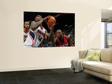 New Jersey Nets v Atlanta Hawks: Damion James and Marvin Williams Prints by Kevin Cox