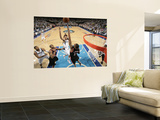 Portland Trailblazers v Dallas Mavericks - Game Five, Dallas, TX - APRIL 25: Shawn Marion and LaMar Art by Glenn James