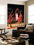 Houston Rockets v Toronto Raptors: DeMar DeRozan and Kevin Martin Poster by Ron Turenne