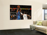 Oklahoma City Thunder v Denver Nuggets - Game Four, Denver, CO - April 25: Russell Westbrook and J. Art