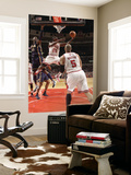 Indiana Pacers v Chicago Bulls: Ronnie Brewer, Carlos Boozer and Roy Hibbert Prints by Ray Amati
