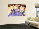 New Orleans Hornets v Los Angeles Lakers - Game One, Los Angeles, CA - April 17: Shannon Brown Prints