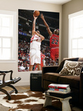 Chicago Bulls v Houston Rockets: Luis Scola and Taj Gibson Posters by Bill Baptist