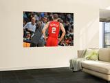 New Jersey Nets v Denver Nuggets: Avery Johnson and Jordan Farmar Poster by Garrett Ellwood