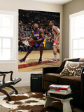 Los Angeles Lakers v Toronto Raptors: Kobe Bryant and DeMar DeRozan Prints by Ron Turenne
