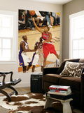 Portland Trail Blazers v Phoenix Suns: Marcus Camby and Jason Richardson Prints by Barry Gossage