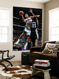 San Antonio Spurs v New Orleans Hornets: Marco Belinelli and Tim Duncan Prints by Chris Graythen