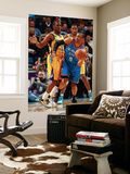 Oklahoma City Thunder v New Orleans Hornets: Russesll Westbrook and Chris Paul Prints by  Chris