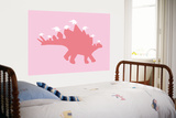 Pink Spike Print by  Avalisa