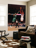 Boston Celtics v New York Knicks - Game Four, New York, NY - April 24: Carmelo Anthony and Paul Pie Art