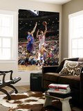 New York Knicks v Detroit Pistons: Tayshaun Prince and Wilson Chandler Prints by Allen Einstein