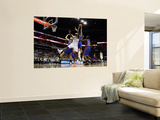New York Knicks v Charlotte Bobcats: Wilson Chandler and Kwame Brown Art by Streeter Lecka