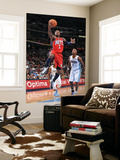New Jersey Nets v Denver Nuggets: Terrence Williams and Chauncey Billups Print by Garrett Ellwood