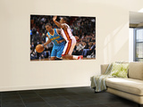 New Orleans Hornets v Miami Heat: Chris Paul and Mario Chalmers Posters by James Riley