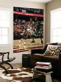 Boston Celtics v Cleveland Cavaliers: Antawn Jamison and Kevin Garnett Poster by David Liam Kyle
