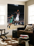 Boston Celtics v Atlanta Hawks: Joe Johnson and Ray Allen Prints by Scott Cunningham