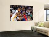 Detroit Pistons v Golden State Warriors: Monta Ellis and  Ben Gordon Prints by Rocky Widner