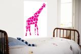 Pink Giraffe Affiches par  Avalisa