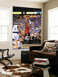 Miami Heat v Dallas Mavericks - Game Three, Dallas, TX -June 5: Dwyane Wade and Jason Terry Prints by Garrett Ellwood
