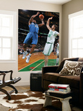 Washington Wizards v Boston Celtics: Trevor Booker and Semih Erden Posters by Brian Babineau