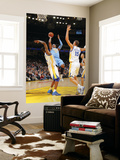 Denver Nuggets v Golden State Warriors: Carmelo Anthony andris Biedrins and Dorell Wright Prints by Rocky Widner