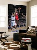 New Jersey Nets v Dallas Mavericks: Devin Harris and Tyson Chandler Posters by Glenn James