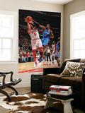 Oklahoma City Thunder v Chicago Bulls: Carlos Boozer and Serge Ibaka Print by Joe Murphy