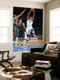 Milwaukee Bucks v Denver Nuggets: J.R. Smith, John Salmons and Ersan Ilyasova Posters by Garrett Ellwood