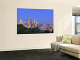 Skyline From Kerry Park, Seattle, Washington, USA Posters by Jamie & Judy Wild