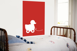 Red Ducky Posters by  Avalisa