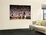 Dallas Mavericks v Miami Heat - Game Two, Miami, FL - JUNE 2: Dirk Nowitzki, Chris Bosh and Udonis  Prints by Garrett Ellwood