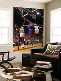 Phoenix Suns v Miami Heat: Chris Bosh, Channing Frye and Dwyane Wade Prints by Victor Baldizon