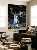 San Antonio Spurs v New Orleans Hornets: Marcus Thornton and Tiago Splitter Prints by Layne Murdoch