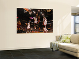 Cleveland Cavaliers  v Miami Heat: Joel Anthony and Daniel Gibson Prints by Mike Ehrmann