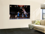 Orlando Magic v Los Angeles Clippers: Blake Griffin, Jameer Nelson, Dwight Howard and Mickael Pietr Poster by Noah Graham