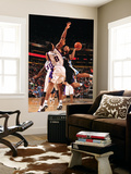 Memphis Grizzlies v Phoenix Suns: Xavier Henry, Earl Barron and Channing Frye Print by Barry Gossage