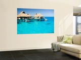 Bora Bora Nui Resort and Spa, Bora Bora, Society Islands, French Polynesia Print