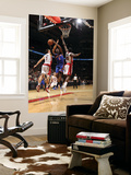 New York Knicks v Toronto Raptors: Amar'e Stoudemire, Amir Johnson and Andrea Bargnani Prints by Ron Turenne